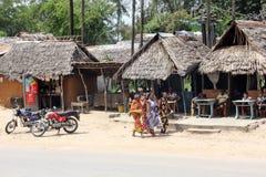 Malindi's street Stock Photo