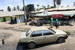 Malindi's street Stock Photography