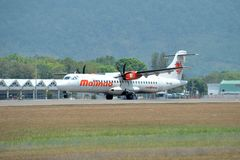 Malindo Air aircraft ATR 72-600 Stock Photography