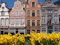 Malines,belgium. Building in belgium city of flowers Royalty Free Stock Image