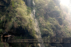 Malinghe waterfall in Xingyi city,Guizhou,China. Stock Photography