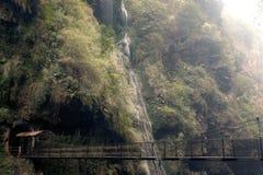 Malinghe waterfall in Xingyi city,Guizhou,China. Stock Photography