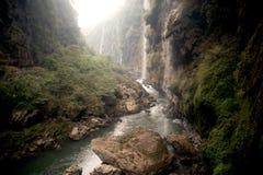Malinghe waterfall in Xingyi city,Guizhou,China. Malinghe waterfall in Xingyi city,Guizhou province in Southwestern of China Royalty Free Stock Photos