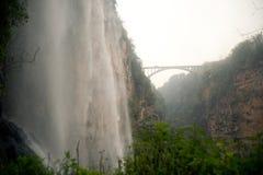 Malinghe waterfall in Xingyi city,Guizhou,China. Malinghe waterfall in Xingyi city,Guizhou province in Southwestern of China Stock Photos