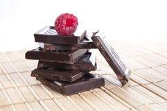 malinka prętowy czekoladowy wierzchołek Obraz Stock