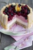 Malinka tort Zdjęcia Royalty Free