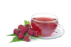 Malinowa herbata 01 Fotografia Royalty Free