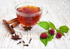 Malinowa herbata zdjęcie stock