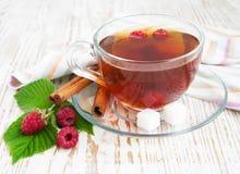 Malinowa herbata obrazy royalty free