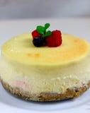 Malinowy cheesecake Fotografia Stock