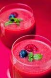 Malinowy smoothie Zdjęcie Stock