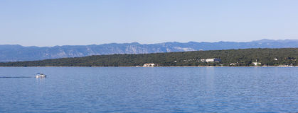 Malinska, wyspa Krk, Chorwacja Zdjęcia Royalty Free