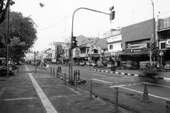 Malioboro. Aktifitas pagi anti mainstream di Jalan Malioboro Jogjakarta Stock Photography