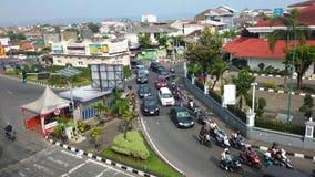 Yogyakarta Street. Malioboro Indonesia Street view Royalty Free Stock Images