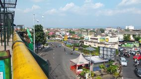 Yogyakarta Street. Malioboro Indonesia Street view Stock Photo
