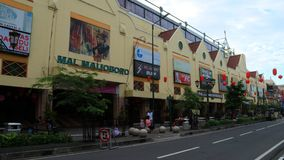 Malioboro Mall. Jogjakarta, Indonesia - February 6, 2018: Malioboro Mall at Malioboro Street Royalty Free Stock Photo