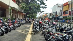 Malioboro Street. In Jogjakarta Indonesia Royalty Free Stock Photo