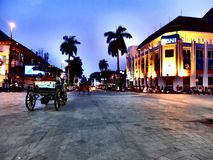 Malioboro. Street in Jogjakarta Indonesia with its traditional Stock Images