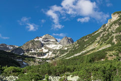 Maliovitsa peak, Rila Mountain. Mountain landscape from Rila mountains, Bulgaria Stock Photography