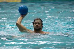 Malkov Taras. Dynamo(Moscow) team of waterpolo Royalty Free Stock Image