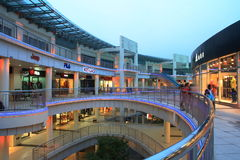 Mall. Shopping mall in Qingpu, Shanghai Stock Image