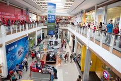 A mall in Amazon Stock Photo