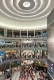 Mall of America during a busy day. MINNEAPOLIS,MN - JULY 18: Interior of Mall of America during a busy day, on July 18, 2013, in Minneapolis MN Royalty Free Stock Image