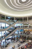 Mall of America during a busy day. MINNEAPOLIS,MN - JULY 18: Interior of Mall of America during a busy day, on July 18, 2013, in Minneapolis MN Royalty Free Stock Photo