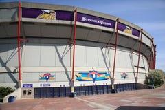 Mall of America Field - Vikings. Home field of NFL Minnesota Vikings Royalty Free Stock Photos