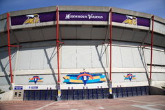 Mall of America Field - Vikings. Home field of NFL Minnesota Vikings Stock Photography