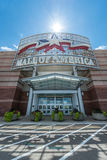 Mall of America main entrance. MINNEAPOLIS, MN - JULY 28: Mall of America main entrance, on July 28, 2013, in Minneapolis, MN Royalty Free Stock Photo