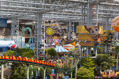Mall of America's Nickelodeon Universe in Bloomington, MN on Jul. BLOOMINGTON, MN - JULY 06, 2013 - Mall of America on July 06, 2013 in Minnesota. On 29 November Stock Photo