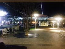 Mall Area. A Pretorian mall area at night time Stock Photography