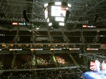 Mall of Asia Arena. Is an indoor arena within the SM Mall of Asia complex, in Bay City, Pasay, Metro Manila, Philippines Stock Photo