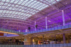 Mall Aviapark, the largest shopping center in Europe Stock Photography