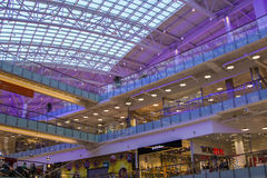 Mall Aviapark, the largest shopping center in Europe Stock Photo