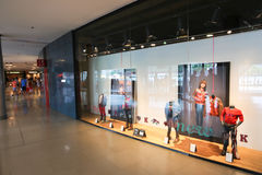 Mall in Barcelona Stock Photo