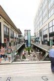 Mall - Barcelona, Spain. ِAug 19, 2014 - Mall and shopping in Barcelona, Spain Stock Photos