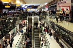 Mall of Berlin. CIRCA SEPTEMBER 2014 - BERLIN: the new shopping mall at the Leipziger Platz Mall of Berlin, Berlin-Mitte Stock Photos