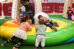 Mall children's playground Stock Photo