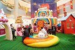 Mall children's playground Stock Images