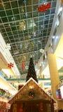 Mall Christmas celebrations Stock Photography
