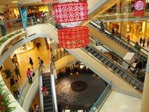 Mall-Einkaufen für chinesisches neues Jahr Stockfotografie