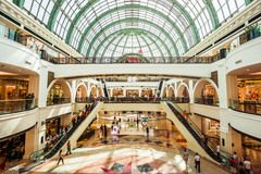 Mall of the Emirates, Dubai. One of the most luxurious malls I have ever seen, Impressive Stock Image