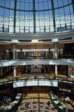 Mall of the Emirates in Dubai, UAE. It is the world's first shopping resort and a multi-level shopping centre, and also Ski Dubai - the Middle East's first Royalty Free Stock Images