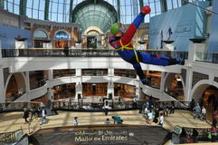 Mall of the Emirates in Dubai, UAE. It is the world's first shopping resort and a multi-level shopping centre, and also Ski Dubai - the Middle East's first Royalty Free Stock Photos