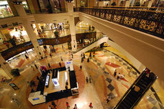Mall of the Emirates. DUBAI, UNITED ARAB EMIRATES - NOVEMBER 30: Mall of the Emirates November 30, 2011 in Dubai, UAE. This is the second largest mall in Dubai Stock Image