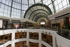 Mall of the Emirates in Dubai, United Arab Emirates. Mall of the Emirates is a shopping mall in the Al Barsha district of Dubai, United Arab Emirates Stock Photography
