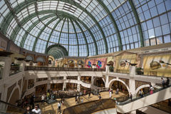 Mall of the Emirates. People at Mall of the Emirates is a shopping mall in the Al Barsha district of Dubai, United Arab Emirates. It located in the heart of what Stock Photos