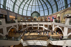 Mall of the Emirates. People at Mall of the Emirates is a shopping mall in the Al Barsha district of Dubai, United Arab Emirates. It located in the heart of what Stock Image